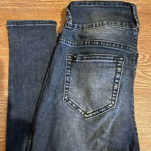 Blackheart jeans from Hot Topic skinny distressed